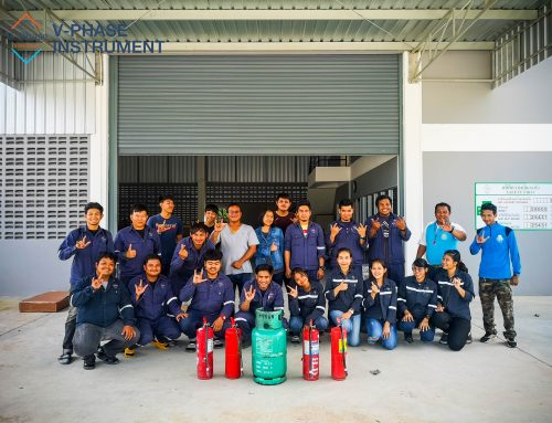 ฝึกอบรมดับเพลิงและการอพยพหนีไฟ